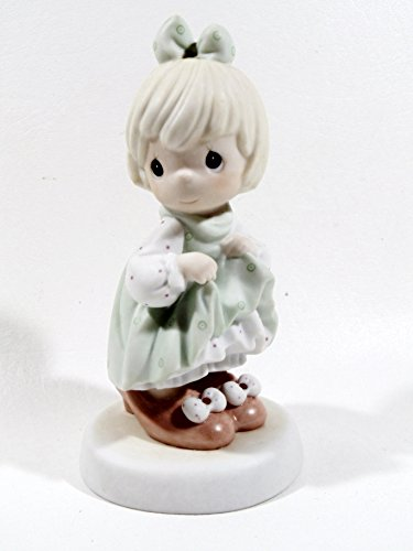 Precious Moments Who s Gonna Fill Your Shoes Porcelain Figurine