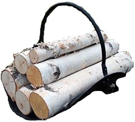 Fireplace Set White Birch Logs product image