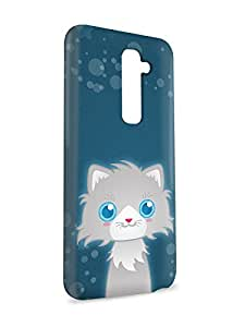 Case Fun Case Fun Persian Cat by DevilleART Snap-on Hard Back Case Cover for LG G2
