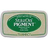 Imagine SZPIG-051 StazOn - Almohadilla de tinta, color verde