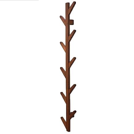 HBWJSH Colgador de Perchero de Pared Tipo árbol, bambú 3 ...