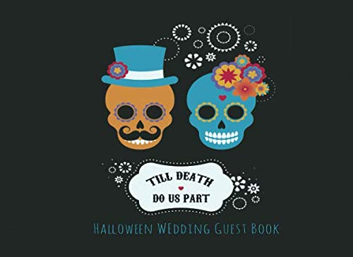 Till Death Do Us Part Halloween Wedding Guest (Halloween Wedding Ideas On A Budget)
