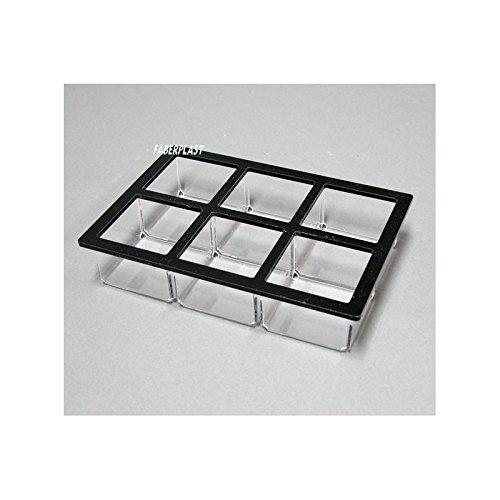 Faberplast Caja Infusiones, Metacrilato, 21x14.5x4.5 cm: Amazon.es: Hogar