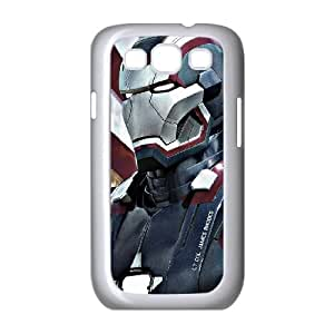Samsung Galaxy S3 9300 Cell Phone Case White Iron Man 3 Poster 2 D2C9MX
