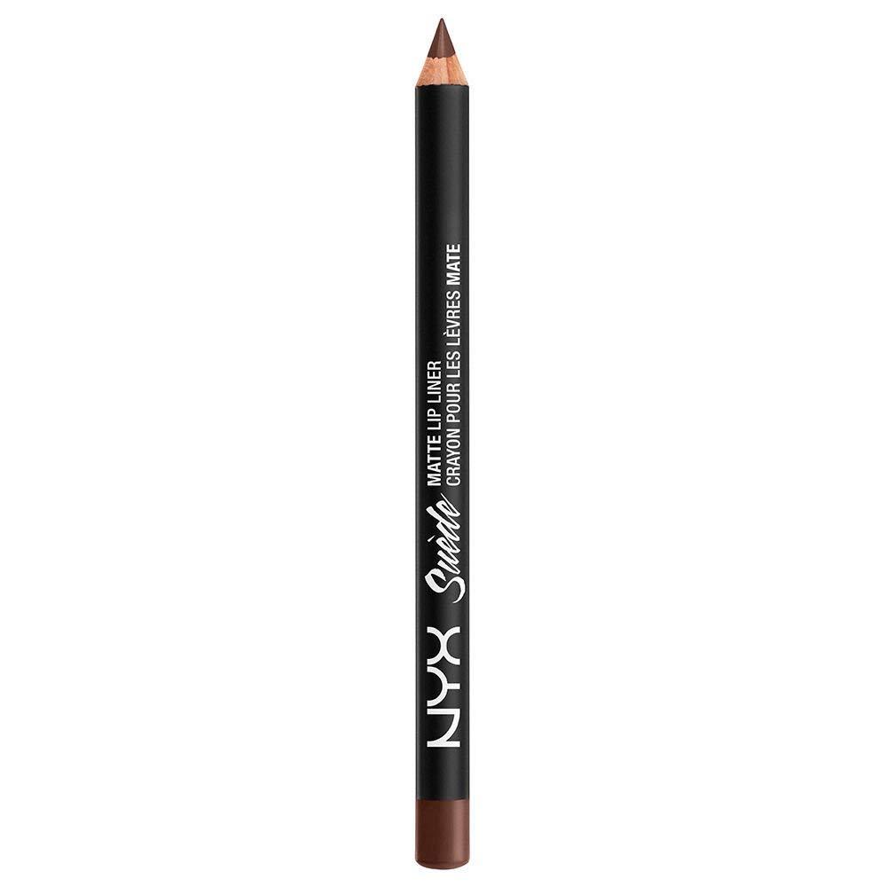 NYX Nyx suede matte lip liner smll23 club hopper/glitz