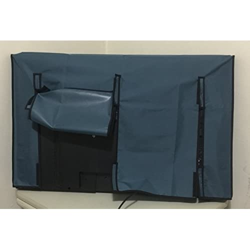 65'' SUNBRITE SB-6560HD 65'' HDTV Blue Cover ,Heavy Duty Material,Water Resistant , Anti-static and Maximize TV Life CB249 - 61.5''W x 8.5''D x 36.5''H