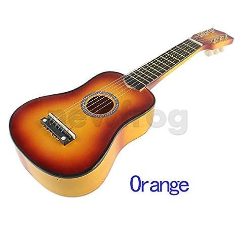 ttnight pequeña guitarra de 21 pulgadas, 6 cuerdas Guitarra ...