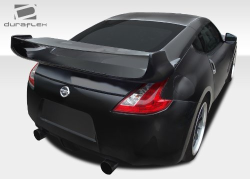 3 Piece Rear Spoiler Wing (2009-2017 Nissan 370Z Coupe Duraflex Vader 3 Rear Wing Trunk Lid Spoiler - 1 Piece)