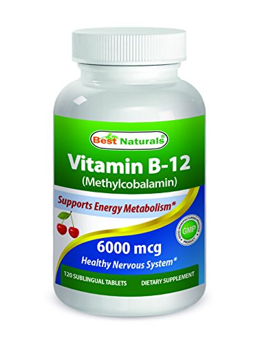 Best Naturals Vitamin B12 6000 mcg 120 Tablets Review