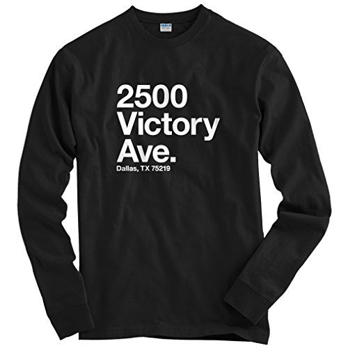 Smash Transit Men's Dallas Hockey Stadium Long Sleeve T-Shirt - Black, XX-Large