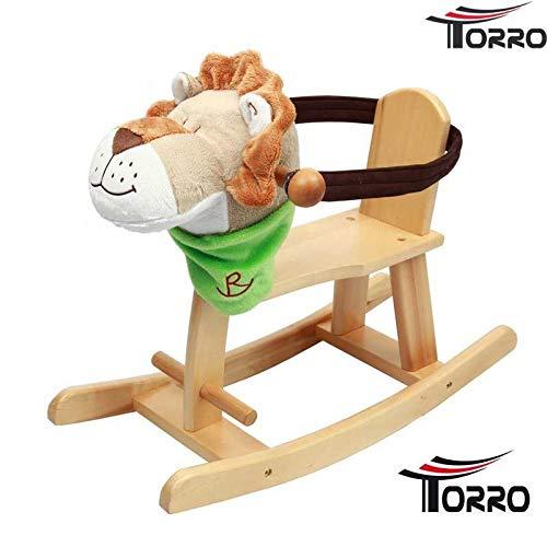 Torro Holzschaukelpferd *Kiddy Lion* Kleinkinder Schaukelpferd