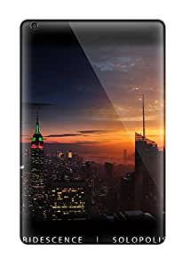 Hot High-end Case Cover Protector For Ipad Mini 3(new York Empire State Panorama) 3063897K81321816