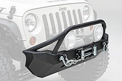 Smittybilt 76806 Black XRC Front Bumper Jeep Wrangler 2007-2018 JK