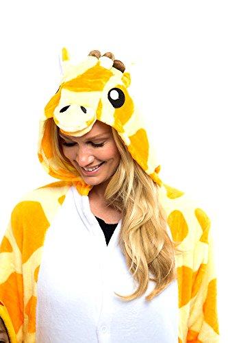 Snug Hand Stitched Unisex Giraffe Animal Onesie (Adult (Buy Onesies For Adults)