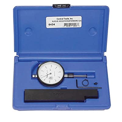 Central Tools 6434 Sleeve Height and Counter Bore Gauge: Automotive