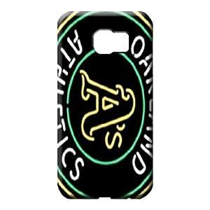 samsung galaxy s6 edge Brand Defender Hot Fashion Design Cases Covers mobile phone skins oakland athletics mlb baseball
