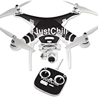 Skin For DJI Phantom 3 Standard – Just Chill 2 | MightySkins Protective, Durable, and Unique Vinyl Decal wrap cover | Easy To Apply, Remove, and Change Styles | Made in the USA