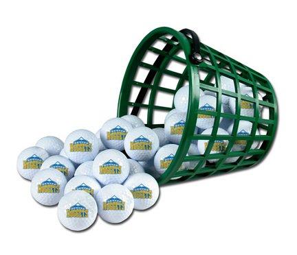 Wincraft NBA Denver Nuggets Bucket of 36 Golf Balls