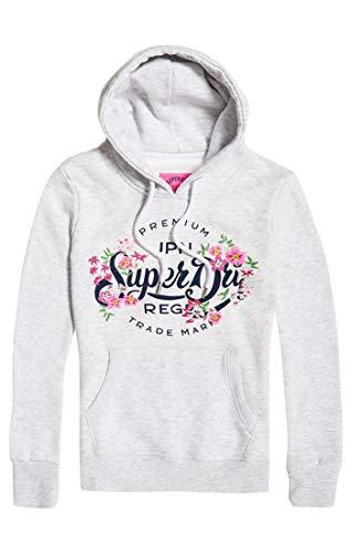 Floral Sudadera Premium Script Grigio Mujer Superdry Para Ho 54g ice Entry Marl xqBEFRwXZ