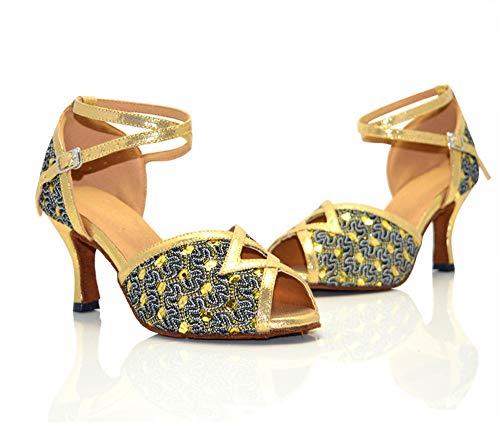 dance ShangYi shoes dance Latin Women's heel dance modern shoes shoes square OEqEFP