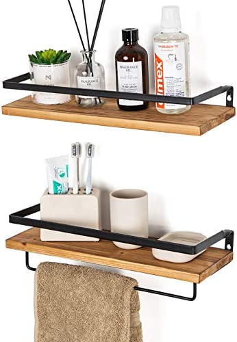 SODUKU Floating Shelves Bathroom Carbonized product image