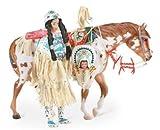 Breyer Indian Pony and Leotie Gift Set