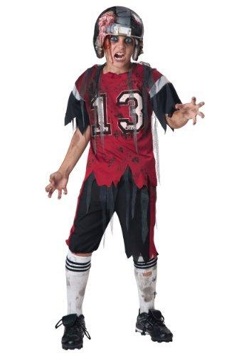 Football Player Zombie Costume (Dead Zone Zombie Child Costume - Medium)