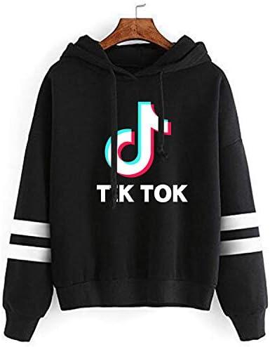 YHBAO Women Fashion Hoodie Sweatshirt Fashion Casual Music Fans Jumper