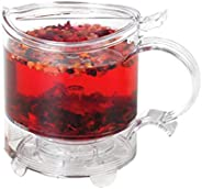 Bule para Chá Acrílico HANDYBREW Transparente 500 ml