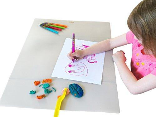 AbidingBooksKids Kids Art and Craft Mat (Large 18 X 24)