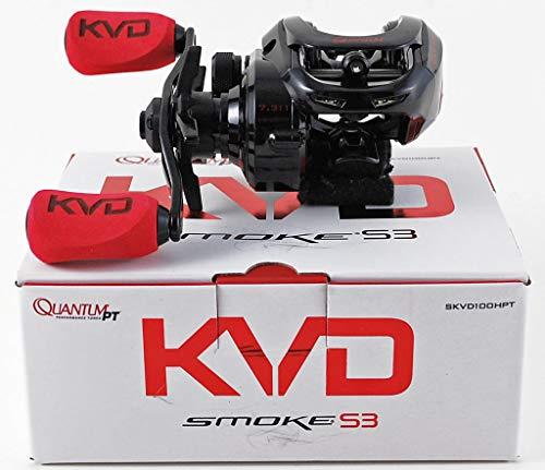 Quantum KVD Smoke S3 SKVD100HPT 7.3:1 Baitcast Reel Right Hand