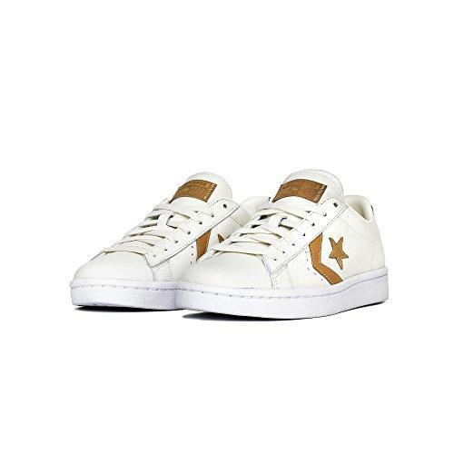 Converse Unisex Pro Leather 76 Low Sneaker Cream 3AlACt