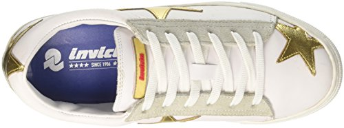 Invicta Unisex-volwassenen Stella Low-top Goud