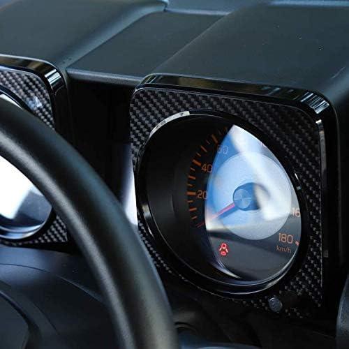 Semoic Dashboard Display Decorative Cover Trim for Jimny 2019 2020 Carbon Fiber Car Accessories