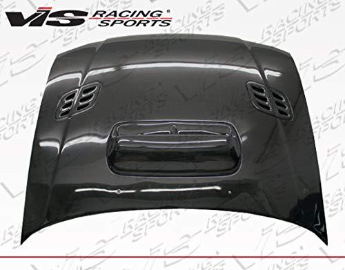 VIS Racing (VIS-BTP-944) Black Carbon Fiber Hood STI Style for Subaru Impreza 2DR & 4DR 93-01