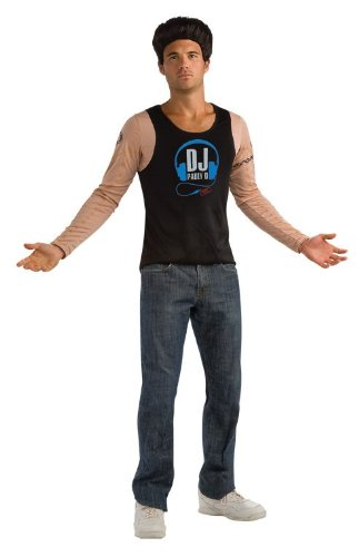 RUBIE'S COSTUME COMPANY Jersey Shore Paul DJ Pauly D Adult Costume Size Large -