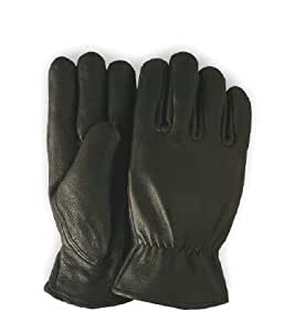 RED WING 95254 Black Bucksin leather gloves insulated!