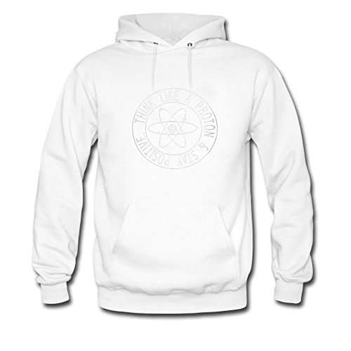 Proton stay positive Printed For Ladies Womens Hoodies (Stay Positive Hoodie compare prices)