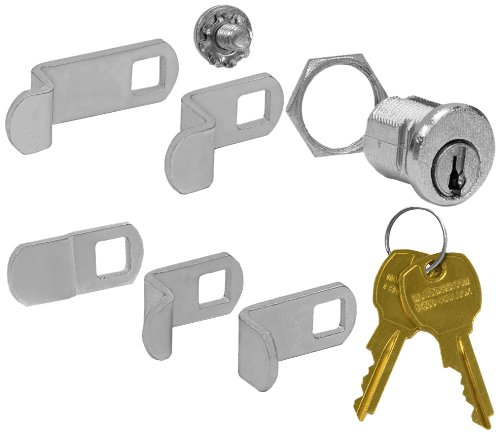 Salsbury Industries 1190 Salsbury Universal Lock for 4B+ Horizontal and Vertical Style Mailbox Door with Two Keys