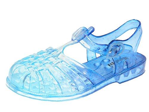Beppi - Chanclas de Material Sintético para niño Azul - azul