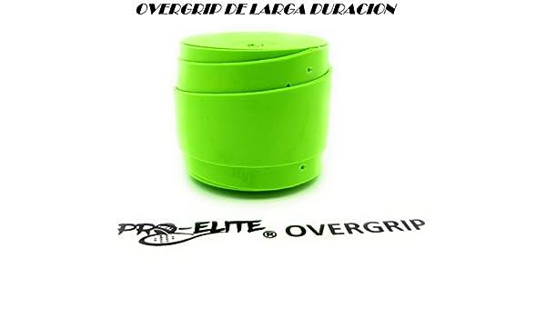 overgrip Pro Elite Premium Perforado Verde Flúor: Amazon.es ...