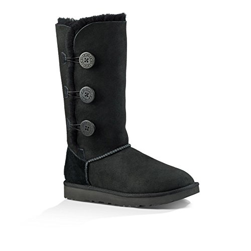 UGG Women's Bailey Button Triplet II Winter Boot, Black, for sale  Delivered anywhere in USA