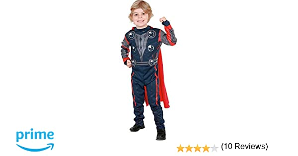 Rubies The Avengers - Disfraz de Thor para niño, talla S (3-4 años) (881310S)