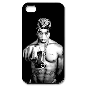 2pac, iphone 4s Case, iphone 4s cover Case,TPU Durable Case for iphone 4s