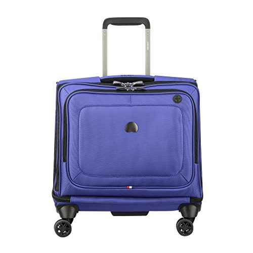 Ballistic Laptop Tote (Delsey Luggage Cruise Lite Softside Spinner Trolley Tote, Blue)
