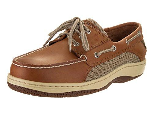 Sperry Top-Sider Men's Billfish 3-Eye Dark Tan Boat Shoe 12 Men US Billfish 3 Eye