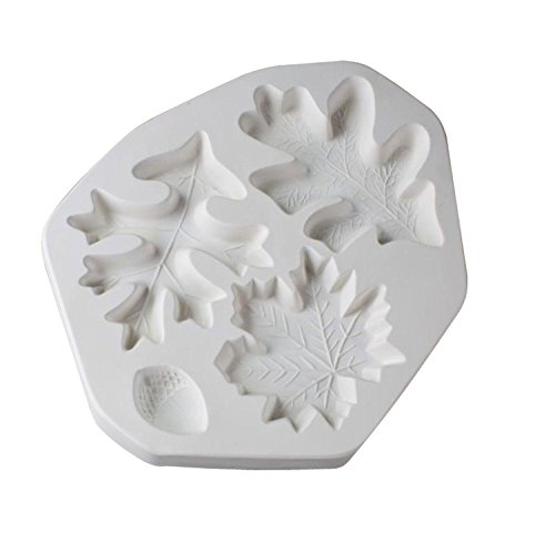 Leaves And Acorn Casting Mold