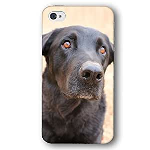 Black Lab Dog Puppy iPhone 4 and iPhone 4S Slim Phone Case