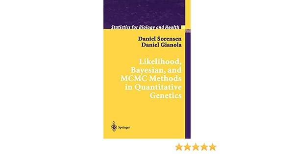 Amazon com: Likelihood, Bayesian, and MCMC Methods in Quantitative