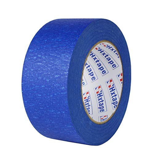 Hxtape Professional Blue Painters Tape,Easy and Clean Removal Trim Edge Finishing Masking Tape (2